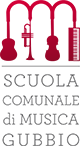 Scuola Comunale di Musica Gubbio Logo
